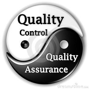 Garantia da Qualidade e Controle da Qualidade
